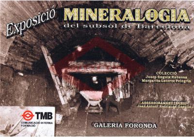 Exposición mineralogía