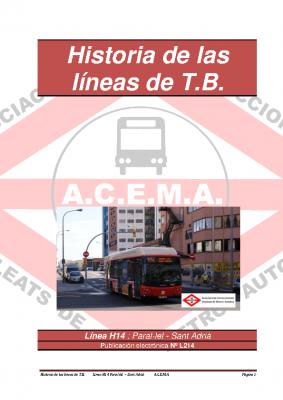 Línea H14