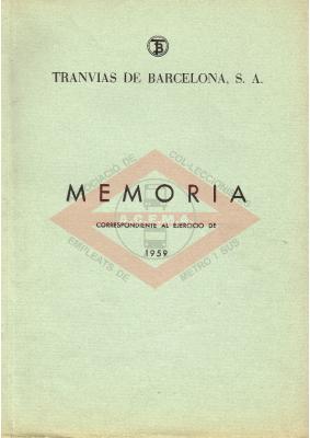 Memòria 1959