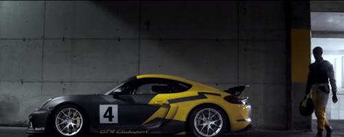 "Spot ""The new Cayman GT4 Clubsport"""