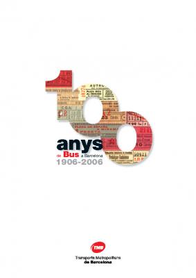 100 años de bus en Barcelona