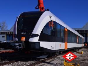 Un dels nous trens. Fotografia: Raúl López (Amics del Bus).
