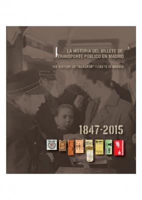 La historia del billete de transporte público en Madrid