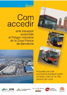 Com accedir en transport públic a la Zona Franca