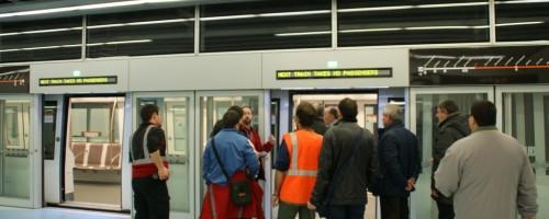Visita estación de Fira L9 del metro