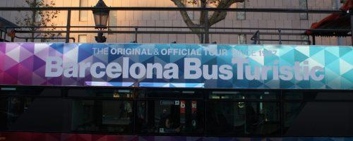 La nueva decoración del Barcelona Bus Turístic