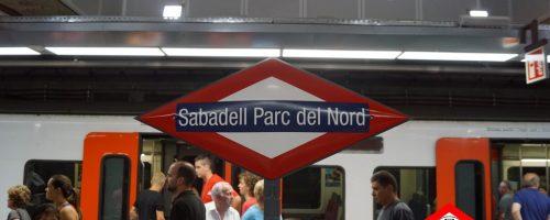 Prolongación de la línea del Vallès de FGC en Sabadell