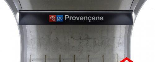 La nova estació de Provençana