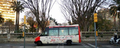 TMB retira el último autobús que circulaba con matrícula provincial