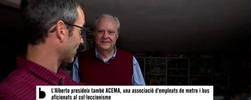 Betevé entrevista a Alberto Martín