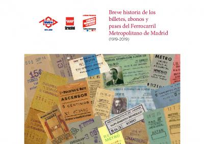 Breu història bitllets Metro Madrid